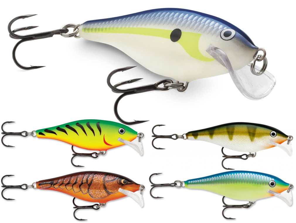 Rapala Scatter Rap Shad SCRS05 5 cm Fishing lures Different colors BRAND NEW