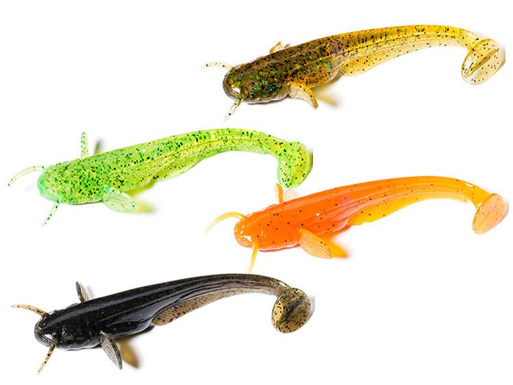 soft baits 8pcs per pack FishUp Wizzle Shad 3 80mm