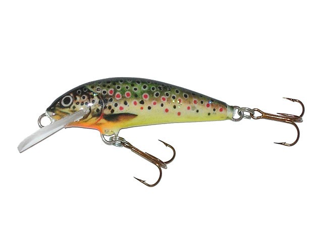 Krakusek NR5 handmade lure for trout 4,5cm floating COLOURS! ide chub