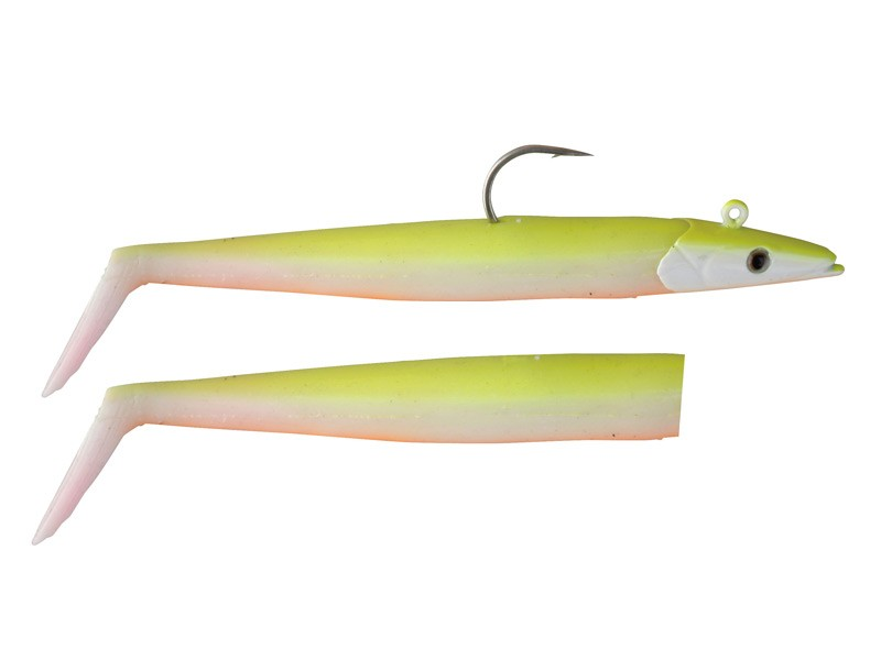 23g Savage Gear Saltwater Sandeel 12,5cm 2pcs. Sea Bass Cod Coalfish