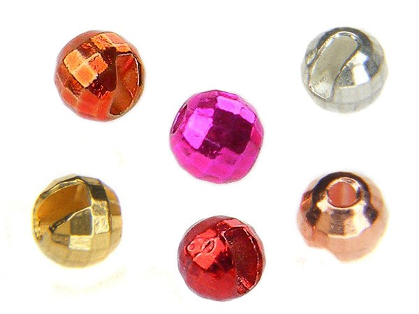 Tungsten Beads 6 colors Reflex slotted for jig hooks per pack 10pcs