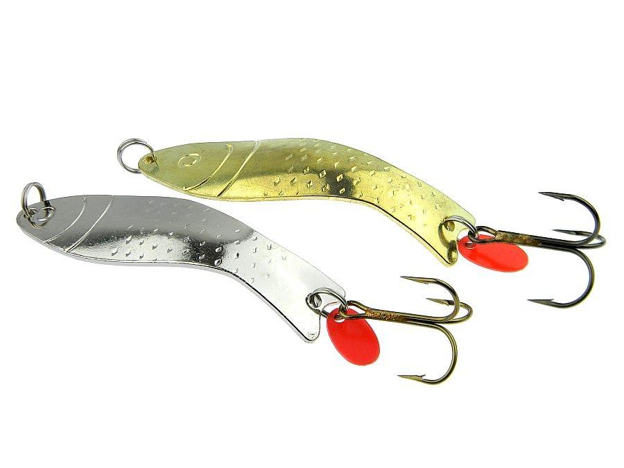 Hecht Polsping Krab Blinker Made in EU Zander spoon lure #0 15g-17g