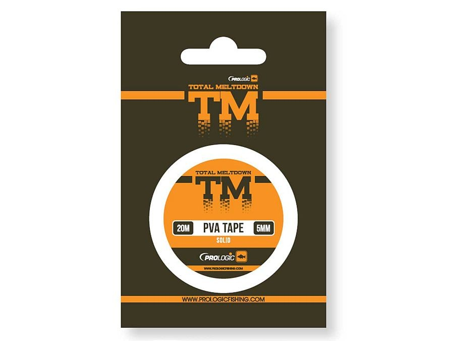 Prologic TM PVA Solid Tape für Stringer wasserlöslich 20m 10mm