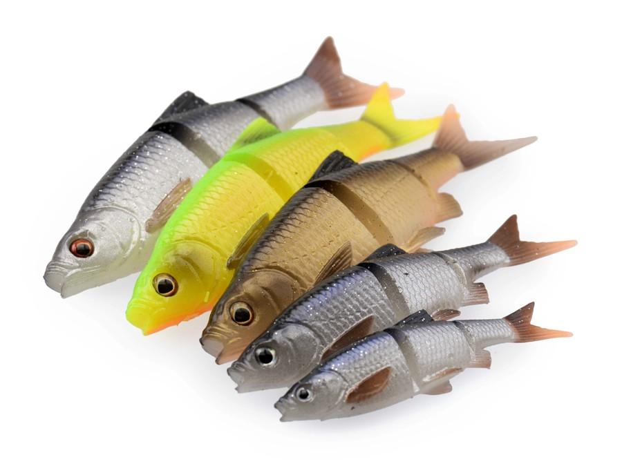 Savage Gear 3D LB Roach Swim N Jerk 12.5cm 18g Gummifisch soft bait 3 FARBEN