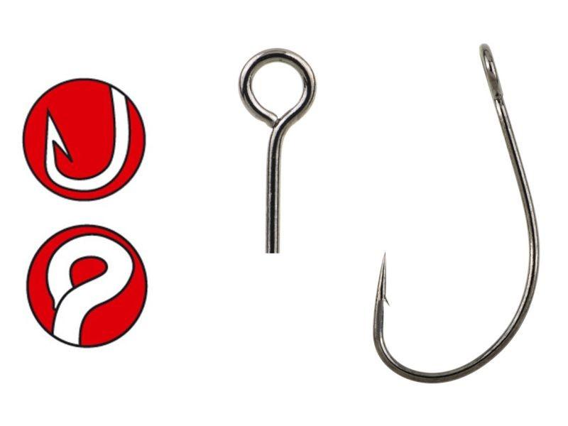 Hooks for rigging soft baits // Gamakatsu LS-3424F